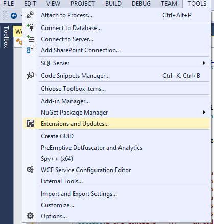 visual_studio_nuget_context_menu